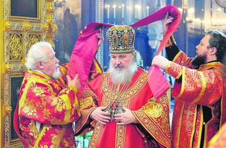 Жаркое лето патриарха