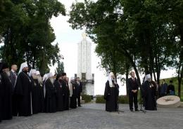 """Патриарх: """"Поместная Церковь в Украине есть"""""""