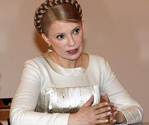 Ю.Тимошенко встретилась в Лавре с Патриархом