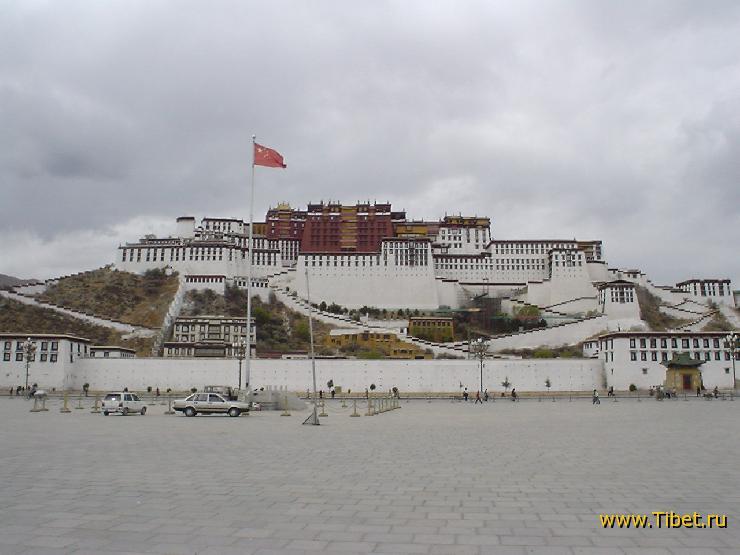 Во дворце Далай-ламы открыт павильон сокровищ