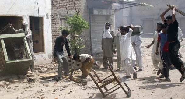 Христиане штата Пенджаб гибнут в погромах