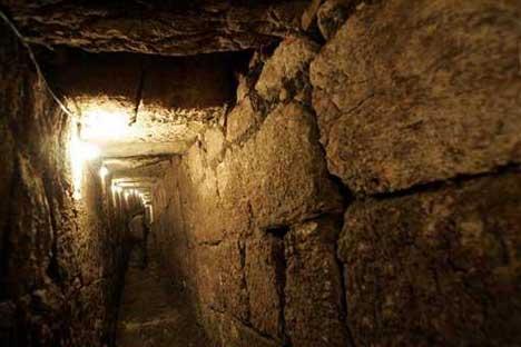 Раскопан участок городских укреплений хананеев
