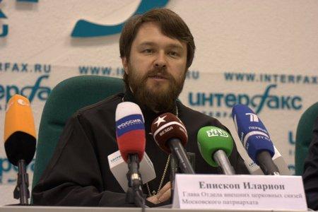 Архиепископ Иларион (Алфеев) прокомментировал интервью патриарха Филарета