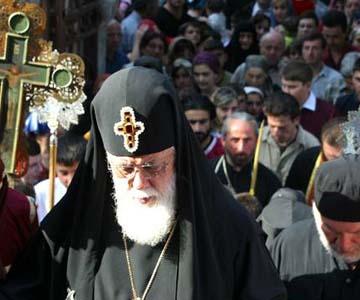 """Католикос Илиа ІІ: """"Ни у кого нет права объявлять независимость, кроме Матери-церкви"""""""