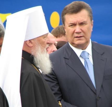 """Митрополит Агафангел: """"В.Янукович - самый достойный претендент"""""""