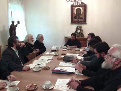Состоялось заседание Ученого совета Общецерковной аспирантуры