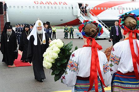 """Патриарх Кирилл: """"Беларусь - часть святой Руси"""""""
