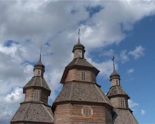 Храмовой праздник в казацкой Покровской церкви на Хортице