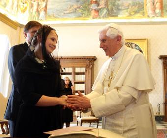 Ватиканское озарение Ю.Тимошенко
