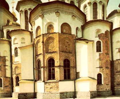 В Консистории Софии Киевской найден погребенный заживо