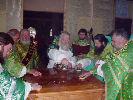 В Закарпатье освящен храм с мощами новопрославленного святого