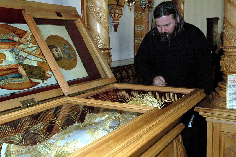 Часть мощей святителя Димитрия хранилась в квартире