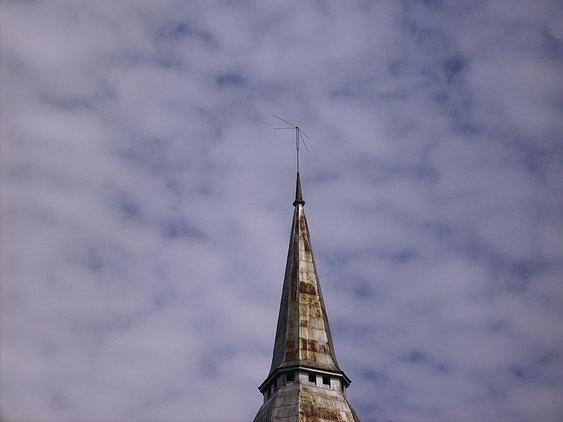 Верхушку шпиля украли с немецкого храма