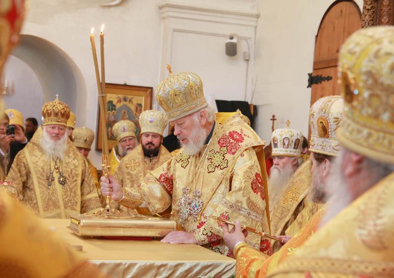 Соболезнование Блаженнейшего митрополита Владимира