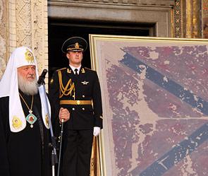 Патриарх Кирилл - за нерушимость гимна