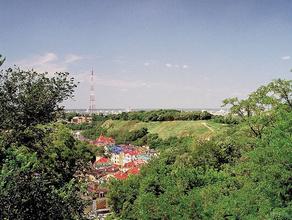 «Город мертвых» в центре Киева