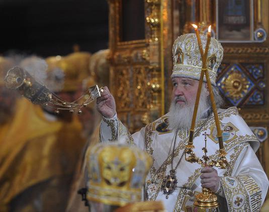"""Патриарх Кирилл: """"Убийство священника - вызов Божию закону"""""""