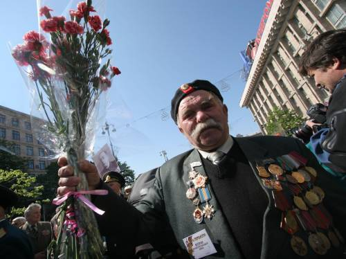 Ветераны ОУН-УПА и Советской армии объединились
