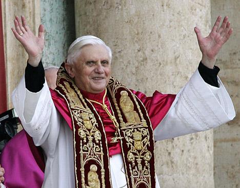 Президент РФ расширил круг чтения Папы Римского