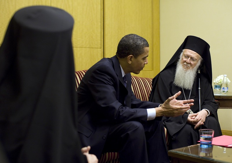 Барак Обама вступился за Вселенского патриарха