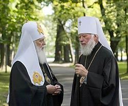 Патриарх Филарет и митрополит Владимир оказались союзниками
