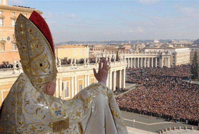 "Папа Бенедикт XVI: «У Церкви нет страха"""