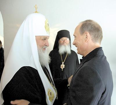 Патриарх Кирилл продолжает «набирать вес»