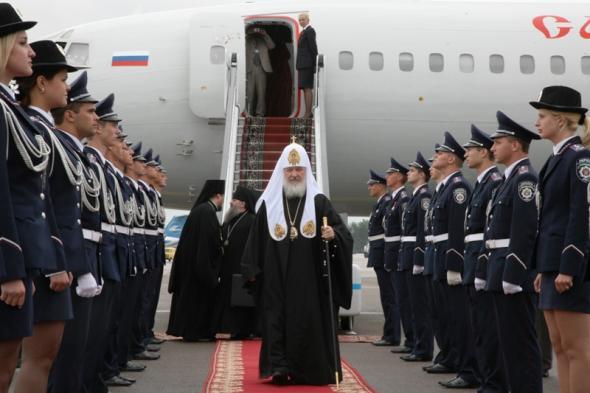 самолет патриарха кирилла фото