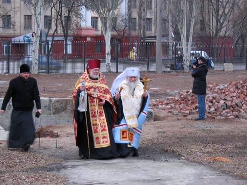 Студенческий храм во имя мученицы Татианы откроется 25 января в Луганске