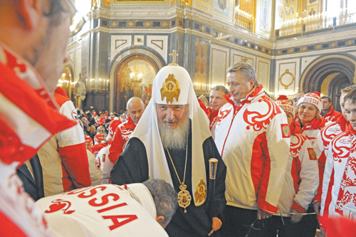 Вера олимпийцев. Патриарх усилил сборную