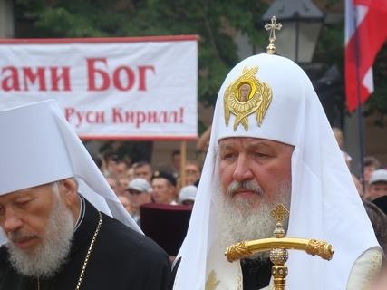 Глава РПЦ молится о правильном выборе украинцев