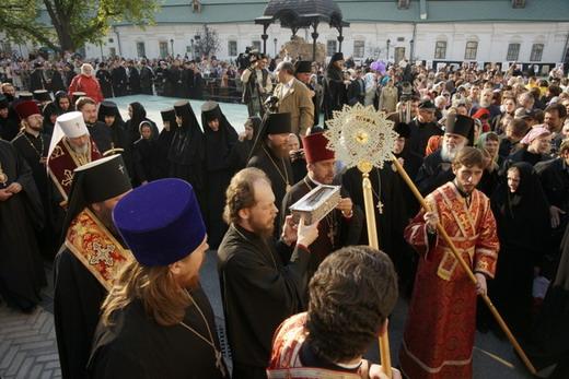 Святые мощи, митрополит Софроний и Кафедральный собор
