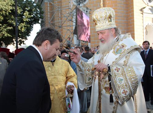 Инаугурация: хроника пребывания патриарха Кирилла