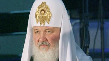 Приветственное слово патриарха Кирилла В.Януковичу