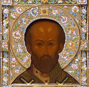 Икону свят. Николая VIII в. похитили во время службы