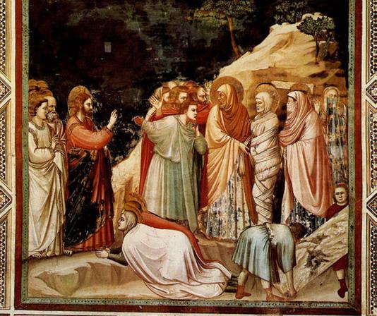 Воскрешение Лазаря. На грани света и тьмы