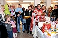 Арх. Кирил (Говорун) і Великдень у посольстві України