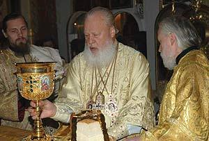 Патриарх Кирилл о заботах митр. Агафангела по уврачеванию раскола