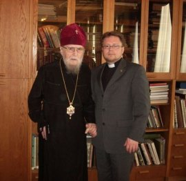 """Я желаю развития богословского диалога между нашими церквами"""