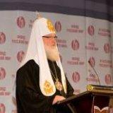 """Патриарх Кирилл: """"Мы определяем, что хорошо, а что плохо, исходя из ценностей Русского мира"""""""