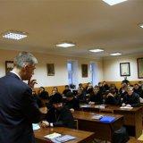 Профессор-католик прочитал лекции студентам Киевских духовных школ УПЦ (МП)