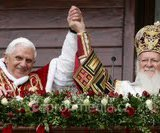 Над чим міркували у Різдво Папа Бенедикт та Патріарх Варфоломій?