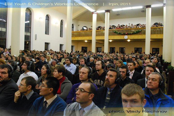 Киев временно превратился в центр мирового молодёжного баптистского движения