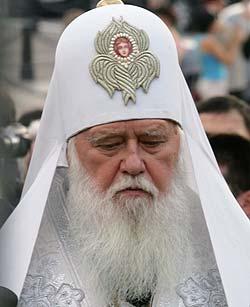 Филарет обратился к Архиерейскому Собору РПЦ по поводу признания/непризнания совершаемых Киевским Патриархатом таинств