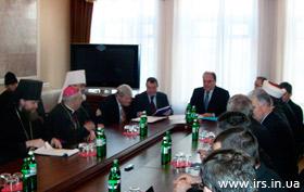 У Мінкультури відбулась перша зустріч представників нової влади з Всеукраїнською Радою Церков і релігійних організацій