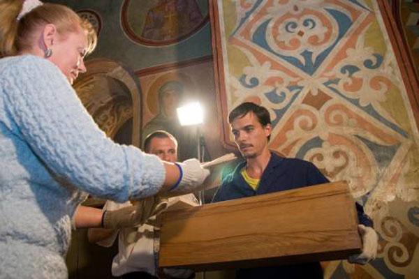 В «Софии Киевской» вместо св. Ярослава Мудрого ученые нашли кости двух женщин