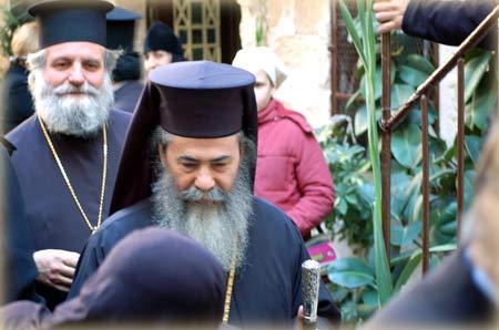 В Украину приезжает Иерусалимский Патриарх
