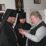 В Ужгородській богословській академії прийняв нагороду настоятель Десятинного монастиря архім. Гедеон (Харон)