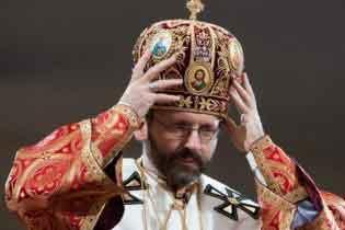 Новий глава УГКЦ зустрівся з Папою Бенедиктом і хоче зустрітися з Патріархом Кирилом
