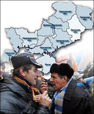 До роздумів про українську ідентичність: скільки ж є Україн?